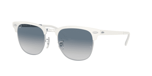 Ray-Ban Ray-Ban CLUBMASTER METAL RB3716 90883F Silver On White