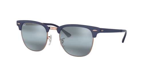 Ray-Ban CLUBMASTER METAL RB3716 9160AJ Copper On Top Dark Blue