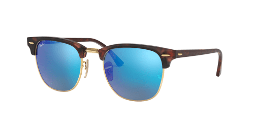 Ray-Ban Clubmaster RB3016 114517 Sand Havana/Gold