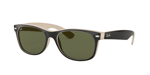 Ray-Ban Ray-Ban Wayfarer RB2132 875 Top Black on Beige