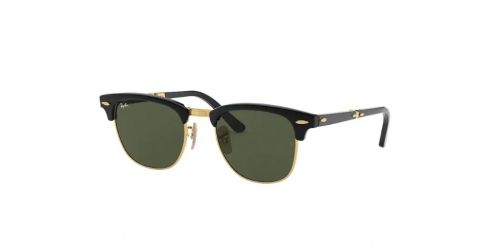 Ray-Ban Clubmaster Folding RB2176 901 Black