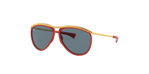 Ray-Ban OLYMPIAN AVIATOR RB2219 1243R5 Red/Gold
