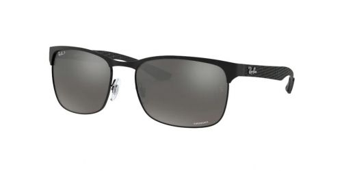 Ray-Ban RB8319CH RB 8319CH 186/5J Matte Black Polarized