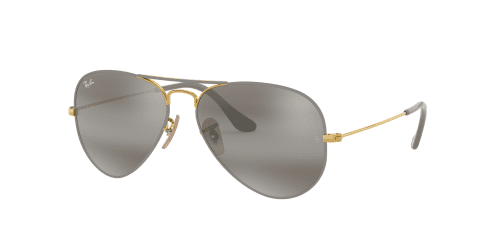 Ray-Ban AVIATOR LARGE RB3025 9154AH Gold on Top Matte Grey