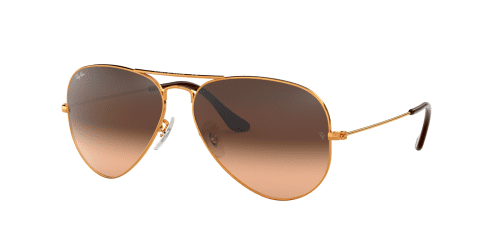 Ray-Ban AVIATOR LARGE RB3025 9001A5 Shiny Light Bronze