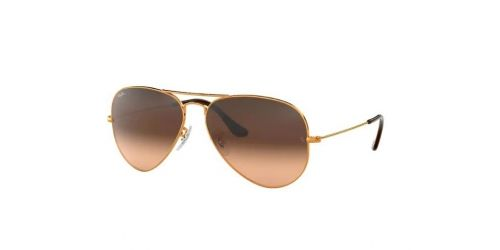 AVIATOR LARGE RB3025 AVIATOR LARGE RB 3025 9001A5 Shiny Light Bronze