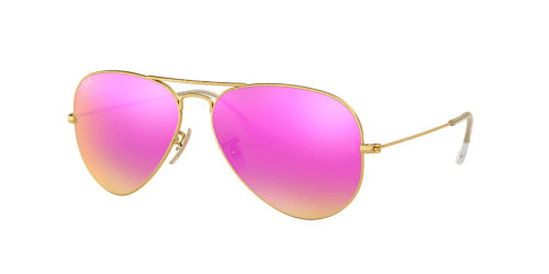 AVIATOR LARGE RB3025 AVIATOR LARGE RB 3025 112/4T Matte Gold