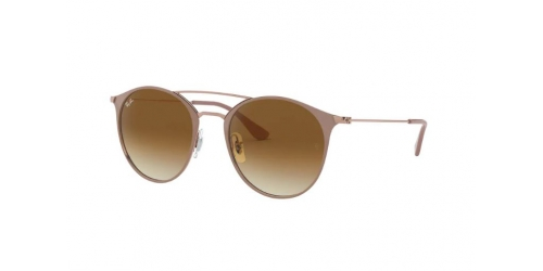 Ray-Ban RB3546 907151 Copper on Top Beige