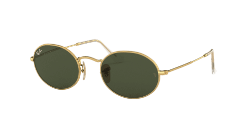 Ray-Ban Oval RB3547 001/31 Gold