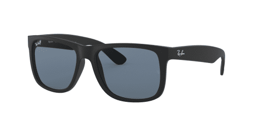 RB4165 Justin RB 4165 Justin 622/2V Rubber Black Polarized