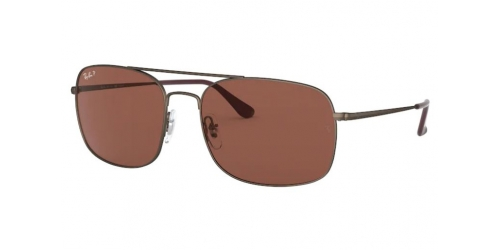 Ray-Ban RB3611 012/AF Matte Brown Polarized