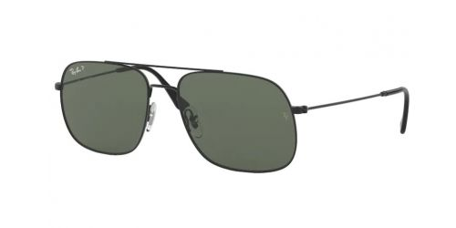 Ray-Ban ANDREA RB3595 90149A Rubber Black Polarized