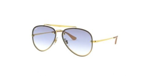 Ray-Ban BLAZE AVIATOR RB3584N RB 3584N 001/19 Gold