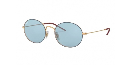Ray-Ban RB3594 9113F7 Blue and Gold