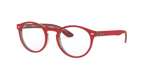 Ray-Ban Ray-Ban RX5283 5987 Red on Transparent