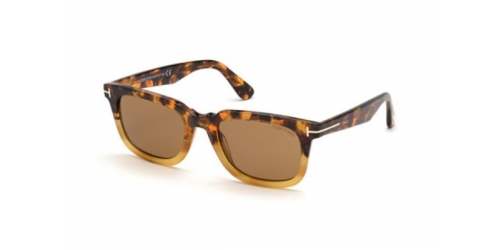 Tom Ford DARIO TF0817 55E Coloured Havana