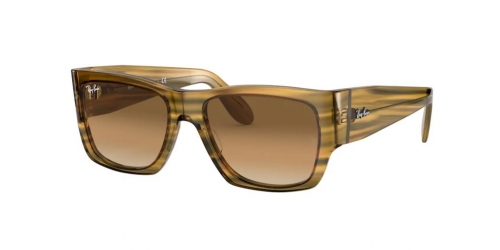 Ray-Ban WAYFARER NOMAD RB2187 131351 Striped Yellow