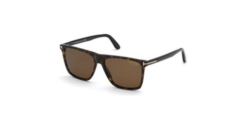 Tom Ford FLETCHER TF0832 52H Dark Havana Polarized