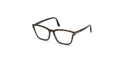 Tom Ford Tom Ford TF5707-B Blue Control TF 5707-B 052 Dark Havana