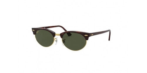 Ray-Ban Ray-Ban Clubmaster Oval RB3946 130431 Mock Tortoise