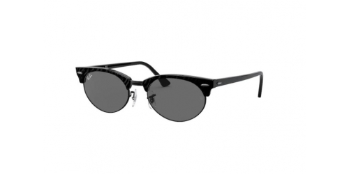 Clubmaster Oval RB3946 Clubmaster Oval RB 3946 1305B1 Wrinkled Black on Black