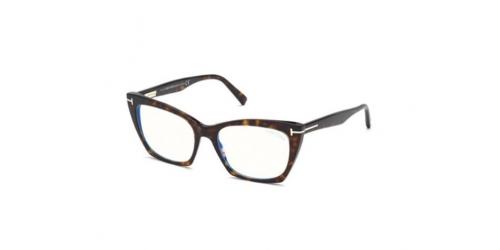 Tom Ford TF5709-B Blue Control TF 5709-B 052 Dark Havana