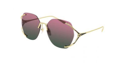 Gucci Gucci GUCCI LOGO GG0651S GG 0651S 001 Gold