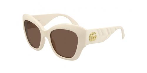 Gucci Gucci SEASONAL ICON GG0808S GG 0808S 002 White