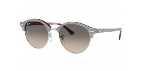 Ray-Ban Ray-Ban RB4246 Clubround 130732 Grey on Bordeux