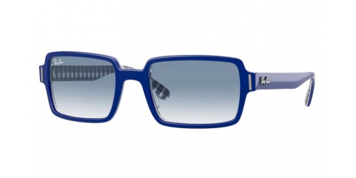 Ray-Ban Ray-Ban BENJI RB2189 13193F Blue on White and Blue
