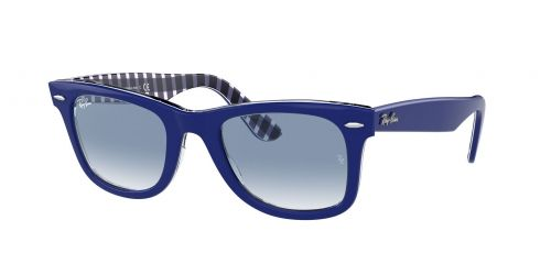 Ray-Ban Ray-Ban Wayfarer RB2140 13193F Blue on Blue and White