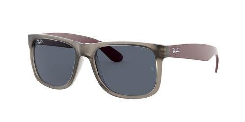 RB4165 Justin RB 4165 Justin 650987 Rubber Transparent Grey