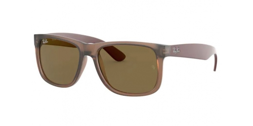 Ray-Ban Ray-Ban RB4165 Justin 651073 Rubber Transparent Brown
