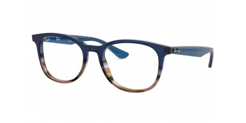 Ray-Ban Ray-Ban RX5356 5765 Gradient Blue on Striped Grey