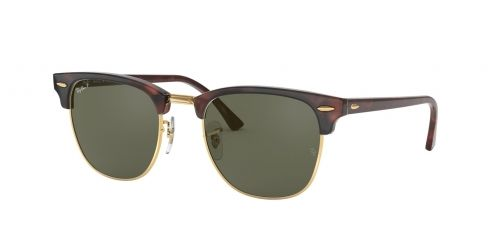 Ray-Ban Ray-Ban Clubmaster RB3016 990/58 Red Havana Polarised