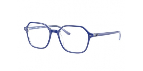 Ray-Ban Ray-Ban JOHN RX5394 8090 Blue on White