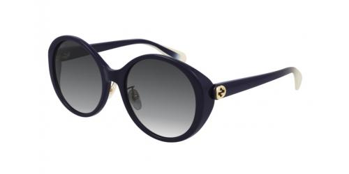 Gucci Gucci GUCCI LOGO GG0370SK GG 0370SK 007 Dark Violet
