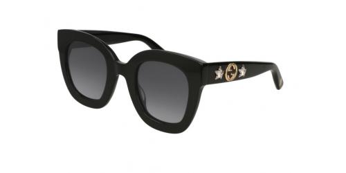 Gucci GUCCI SEASONAL ICON GG0208S GG 0208S 001 Black