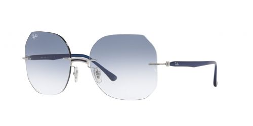 Ray-Ban Ray-Ban RB8067 003/19 Blue on Silver