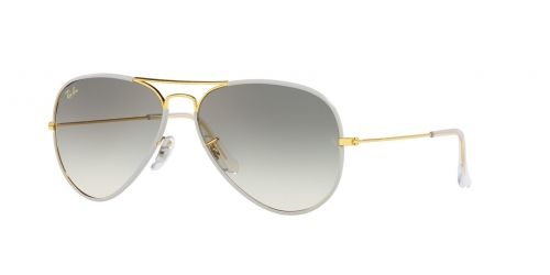 Ray-Ban Ray-Ban AVIATOR LARGE RB3025JM RB 3025JM 919632 Silver on Legend Gold
