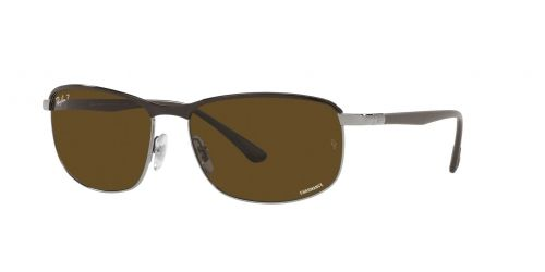 Ray-Ban Ray-Ban RB3671CH RB 3671CH 9203AN Brown on Gunmetal Polarized
