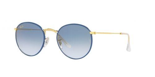 RB3447JM RB 3447JM 91963F Light Blue on Legend Gold