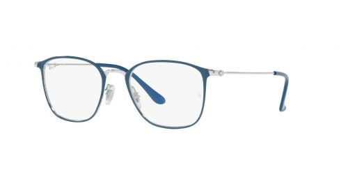 Ray-Ban Ray-Ban RX6466 3101 Blue on Silver