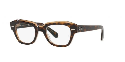 Ray-Ban Ray-Ban STATE STREET RX5486 5989 Havana on Transparent Brown