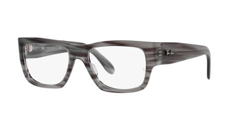 NOMAD WAYFARER RX5487 NOMAD WAYFARER RX 5487 8055 Striped Grey
