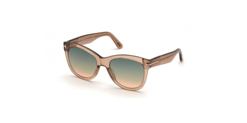 Tom Ford Tom Ford WALLACE TF0870 45P Shiny Light Brown
