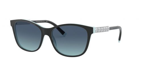 Tiffany Tiffany TF4174B TF 4174B 80559S Black On Blue