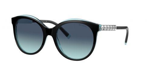 Tiffany Tiffany TF4175B TF 4175B 82859S Black On Crystal Blue
