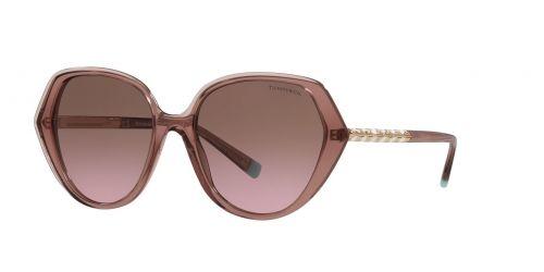 Tiffany Tiffany TF4179B TF 4179B 82979T Pink Brown Transparent