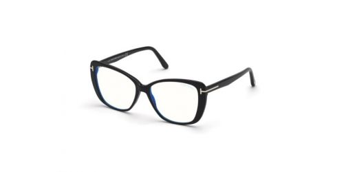 Tom Ford Tom Ford TF5744-B Blue Control TF 5744-B 001 Shiny Black